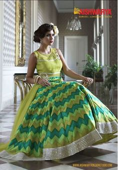 Change the mood. Ditch the pinks and reds. Go Green with this gorgeous anarkali suit from #Aishwarydesignstudio. Buy Anarkali Suit online: http://www.aishwaryadesignstudio.com/classy-green-long-anarkali-suit-2