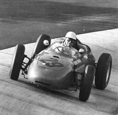 Carel Godin de Beaufort, German Grix 1957, Porsche F2 car, but Porsche's 1st F1 race