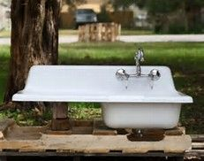 36 inch cast iron drainboard sink - Bing images