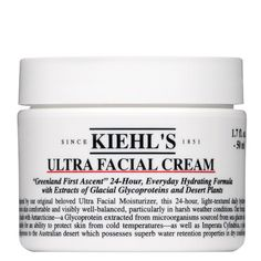 Ultra Facial Cream. Love this face cream. I have been using it for the last 2 years for chicago winters since my skin dries out a lot and this definitely fixes the problem.