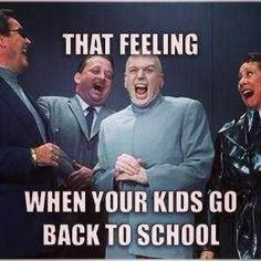 31 Funny First Day Of School Memes For Parents To Celebrate Back To School Quotes Funny, Back To School Meme, School Memes, Going Back To School, Funny Quotes, Funny Memes, Hilarious, First Day Of School Pictures, First Day School
