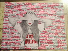 anti bullying drawings | Words Hurt , by Necole Wilson