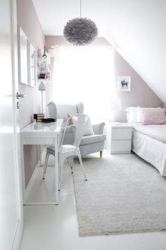 Bedroom Design Ideas for Small Rooms You Will Love - 10 Exciting Bedroom Decorating Ideas Diy Home Decor Bedroom, Teen Bedroom, Living Room Interior, Bedroom Ideas, Modern Bedroom, Bedroom Wall, Master Bedroom, Girl Bedrooms, Bedroom Loft