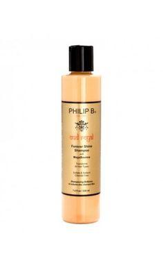 PHILIP B. Russian Oud Royal Forever Shine Sampoo Textured Hair, Bourbon, Shampoo, Perfume Bottles, Personal Care, Makeup, Beauty, Hair, Bourbon Whiskey