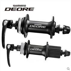 Shimano Deore M615 zestaw Przednie i Tylne hamulce Tarczowe 10 speed Hub QR Centerlock hub