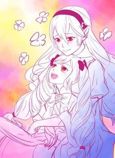 Fire Emblem: If/Fates - Kamui and Elise