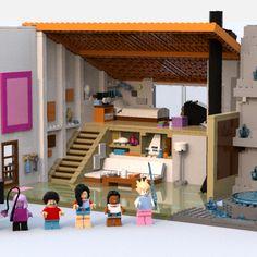 LEGO IDEAS - Steven Universe's Beach House Lego Steven Universe, Build My Own House, Lego House, Lego Ideas, Beach House, Have Fun, House Ideas, Building, Projects