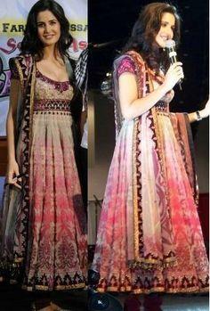 Katrina Kaif in Pink Anarkali