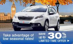 Save Up To 30% Off Car Rentals In Europe