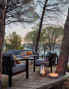 Une terrasse zen en bois