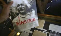 """Article that summarized Einsteins main theories ('inventions"""" in thought)."""