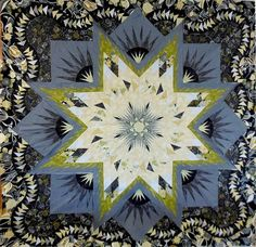 Glacier Star, Quiltworx.com, Made by Janni from CS JanniLou Creations.