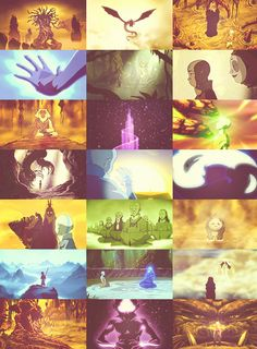 The Avatar is the bridge between our world and the spirit world.