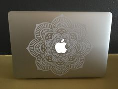 Decorative Mandala for Apple Macbook by FashionablyCrafty14