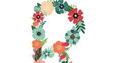Floral R copy. Paper Quilling Patterns, Alphabet Fonts, Watercolor Print, Free Printables, Craft Ideas, Lettering, Floral, Crafts, Decor