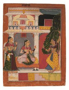 'Kaffi Ragini of Panchama Raga'