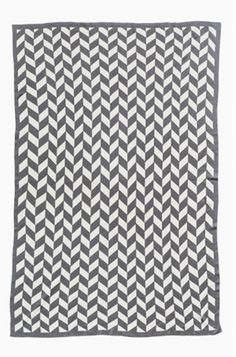 Kate & Kate throw - The Jagger - Mid Grey Marle