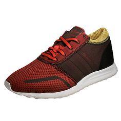 Adidas Originals Los Angeles Mens Classic Casual Retro Trainers Red