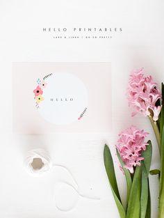Free Printables | Hello