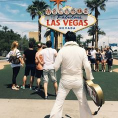 "#LasVegas: Often referred to as ""Sin City,"" this #Nevada town in the middle of the #Mojave Desert is famous for gambling, entertainment and #Elvis. The King performed 837 consecutive sold out shows at the #Hilton. Photo taken by @joanna_skladanek. #localculture #comissionculture #wanderlust #travel"