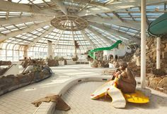 Tropicana: An Abandoned Tropical Indoor Swimming Pool totallycoolpix.com