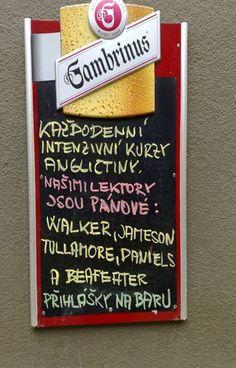 a little Czech meetup.. Funny Memes, Jokes, Favorite Quotes, Motivation, Carpe Diem, Whiskey, Restaurant, Cars, Signs