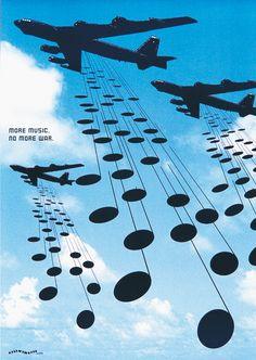 MORE MUSIC, NO MORE WAR: Terashima Design Co…