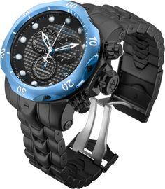 INVICTA Venom Men 53.7mm Stainless Steel Black + Blue Black dial G10.211 Quartz
