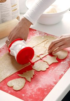 rolling pastry cutter from IKEA