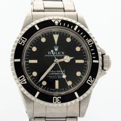 Rolex Submariner 5512 'Metres First'