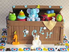 18 Best Cake Toy Box Images