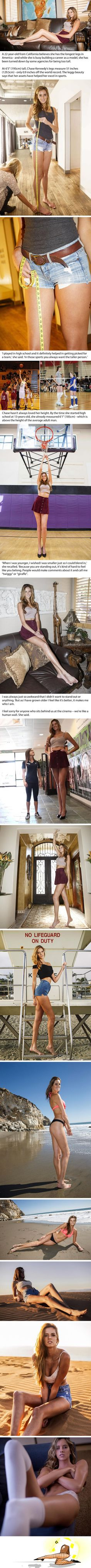 Miss Longest Legs In The US Makes Everyone Looks Like A Hobbit
