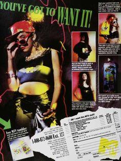 I want my MTV. (1980s)