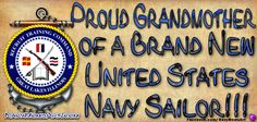 PIN IT! In Honor of Our Newest Sailors who recently had their PIR Graduation! #PIR #Navy  Here's a New #NavyGrandmother Highlight Banner for your Facebook Page or Pinterest Board!!   Let everyone know how proud you are of your Sailor's PIR Graduation!! Enjoy!   **To put it on your page, Please hit the REPIN button. Do Not Copy/Paste. Thanks.** http://art4mil.com