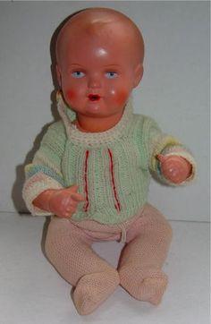 Puppe 50er Jahre Schildkröt Größe T 31 Bild