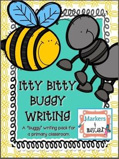 Itty Bitty Writing Pack!  Bugs and Insect Research!