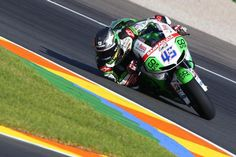 Scott Redding at Valencia. next up helmet pads.