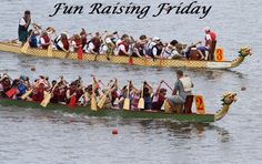 10 Fun Fundraising Ideas From Across The Country - Checkout the Dragon Boat Race called Paddle For Pink and the Lineman Rodeo competition.
