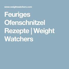 Feuriges Ofenschnitzel Rezepte   Weight Watchers
