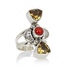 Navajo Couture Gemstone Ring – Tribal Native L.A.