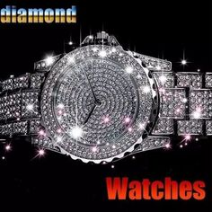 Women's Luxury Watches by rhinestone diamond stones have a high begeni rate. Women's Luxury Watches are now at your fingertips that fascinates you with sparkling look of the unique design. Ladies' Quartz classic watch for further details please see b Swiss Army Watches, Beautiful Watches, Elegant Watches, Stylish Watches, Silver Roses, Rose Gold, Diamond Design, Luxury Watches, Women's Watches