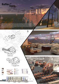 Concept Board Architecture, Architecture Presentation Board, Architecture Design, Architecture Diagrams, Interior Design Presentation, Presentation Layout, Presentation Boards, Architectural Presentation, Architectural Models