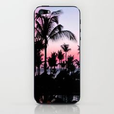 Pink Sunset iPhone & iPod Skin by Laura Nappi - $15.00