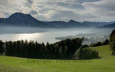 Gmundnerberg - Sun winning against the mist