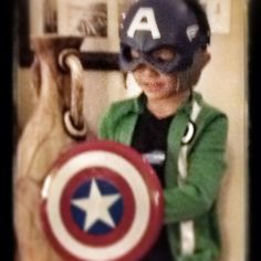 What a night! Captain America showed up! It was thrilling! Brad got his autograph. #funny #family #photooftheday #instagramersi#instaeffectfx #home #christmas - @marianegreer- #webstagram