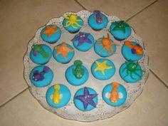 little mermaid cupcakes - Google Search