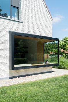 Architecture Details, Modern Architecture, Exterior Design, Home Interior Design, House Extension Design, Interior Windows, House Extensions, Facade House, Window Design