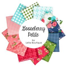Gooseberry Petite Fat Quarter Bundle<br/>Lella Boutique for Moda Fabrics