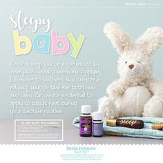 Essential oils were a large part of our newborn bedtime routine. Using lavender or Sleepyize essential oils on your children at night can create a peaceful, relaxing, sleep environment! Essential Oils For Babies, Essential Oil Safety, Young Living Essential Oils, Essential Oil Blends, Young Living Kits, Essential Oils For Inflammation, Bedtime Routine, Mom And Baby, Mama Baby