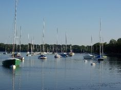 Lake Harriet, Minneapolis. Didn't live on the Lake, but was born and spent much of my childhood in Minneapolis.  It's a great city.